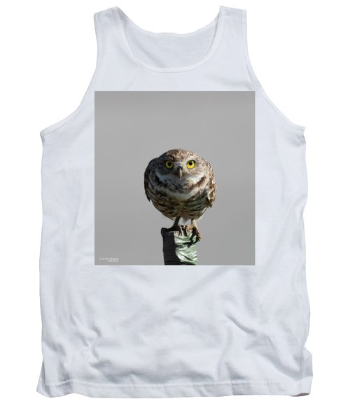 Whooo Are You Tank Top