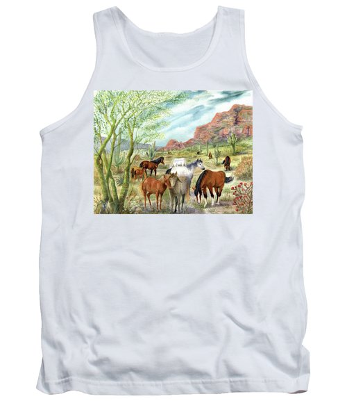 Wild And Free Forever Tank Top
