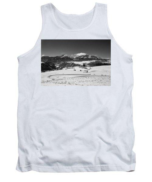 Wilson Mesa Winter Portrait Tank Top