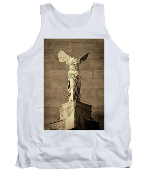 Winged Victory Of Samothrace - #10a Tank Top