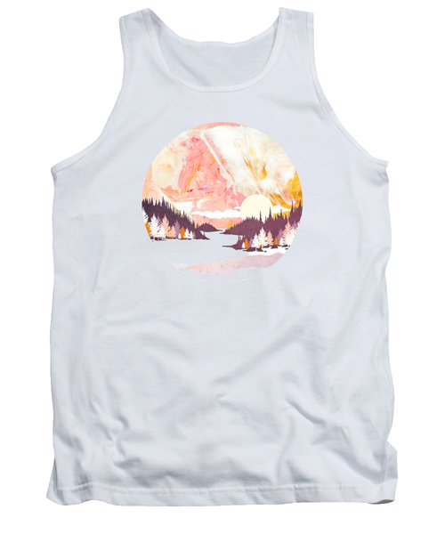 Winter Abstract Tank Top