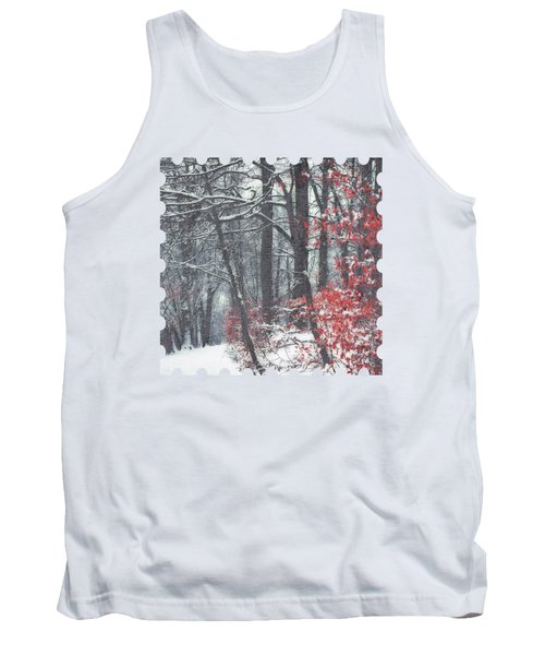 Winter Day - Snowy Forest Hike Tank Top