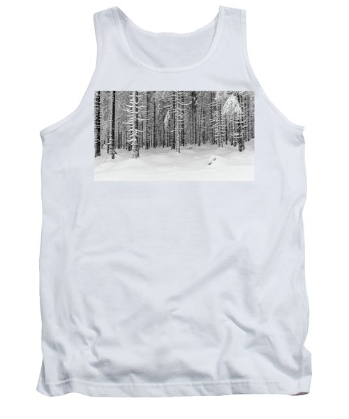 winter forest, Harz Tank Top