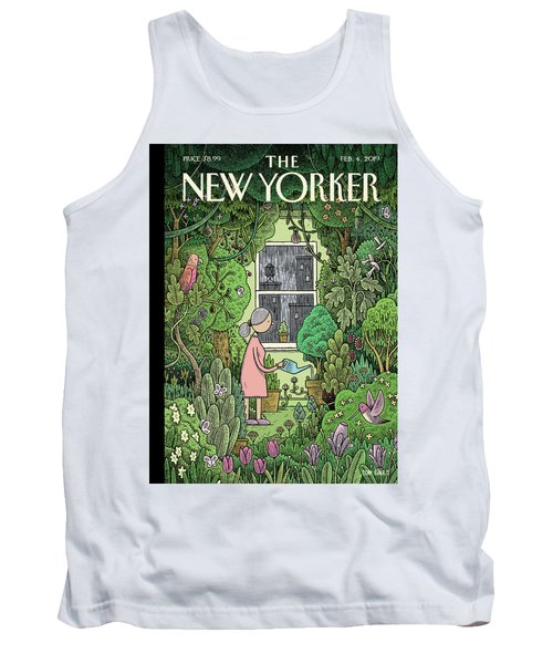 Winter Garden Tank Top