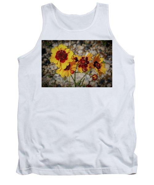 Yellow Wildflowers Tank Top