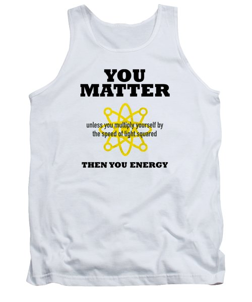 You Matter Or You Energy Tank Top
