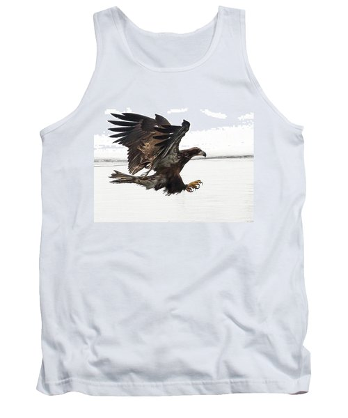 Young Bald Eagle Tank Top