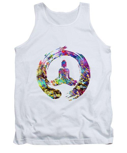 Zen Buddha-colorful Tank Top