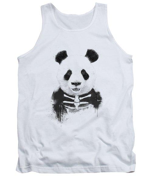 Zombie Panda Tank Top