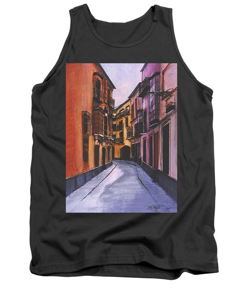 A Street In Seville Spain Tank Top