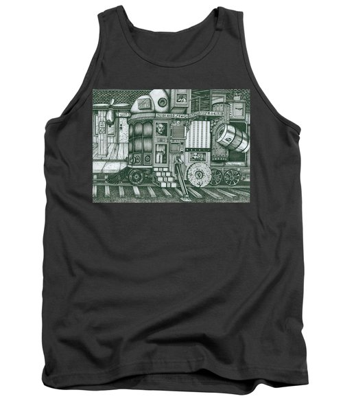 A Traveling Cabinets Of Curiosities Tank Top