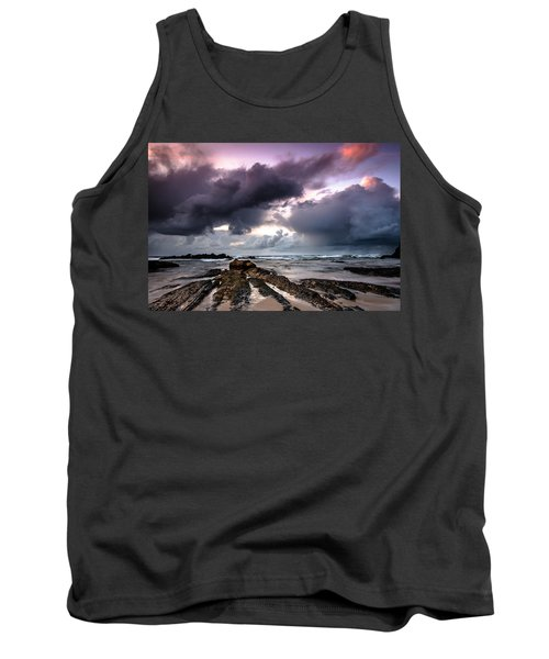 Around The World On A Boat Rock Tank Top