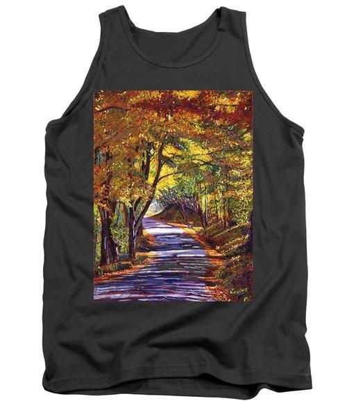 Autumn Road Tank Top