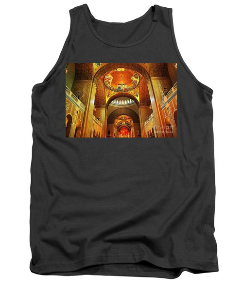 Tank Top featuring the photograph  Basilica Of The National Shrine Of The Immaculate Conception by John S