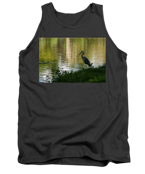 Tank Top featuring the photograph Contemplating Impressionist Paintings by Georgia Mizuleva
