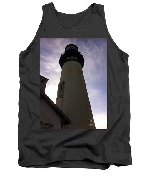 Tank Top featuring the photograph  Light House Sky by Susan Garren