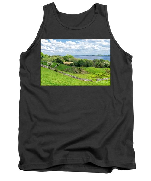 Tank Top featuring the photograph  Loch Coirib by Juergen Klust