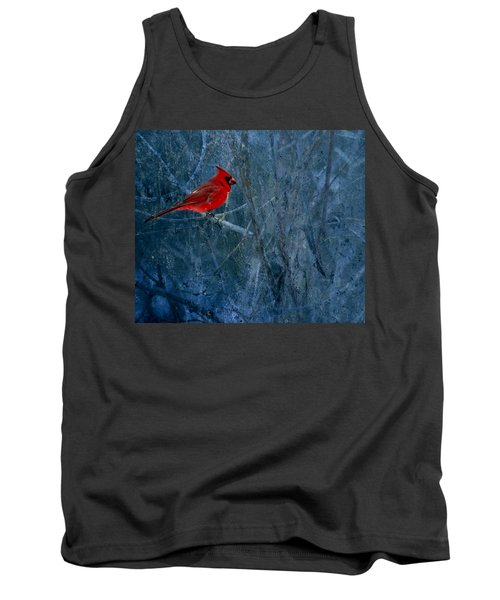 Northern Cardinal Tank Top