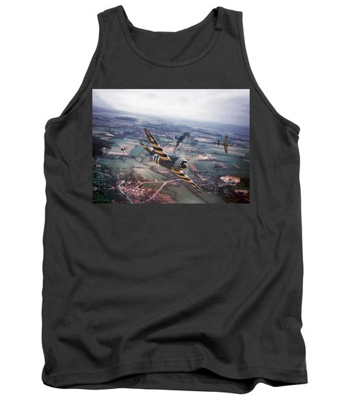 P47- D-day Train Busters Tank Top