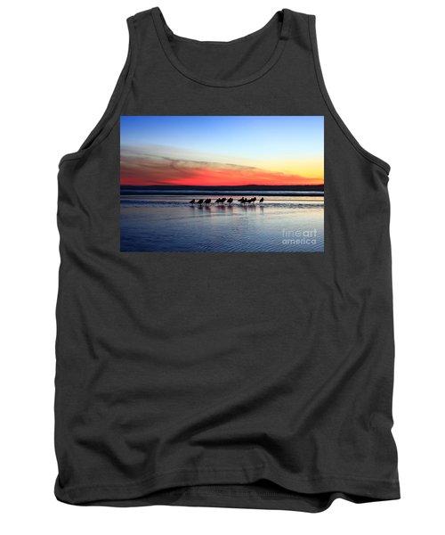 Shorebird Sunset Tank Top