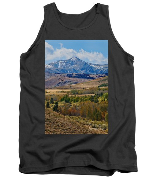 Tank Top featuring the photograph  Sierras Mountains by Mae Wertz