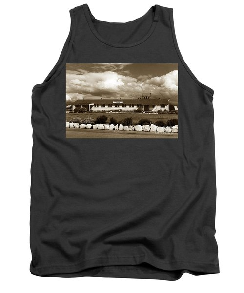 The Fort Ord Station Hospital Administration Building T-3010 Building Fort Ord Army Base Circa 1950 Tank Top