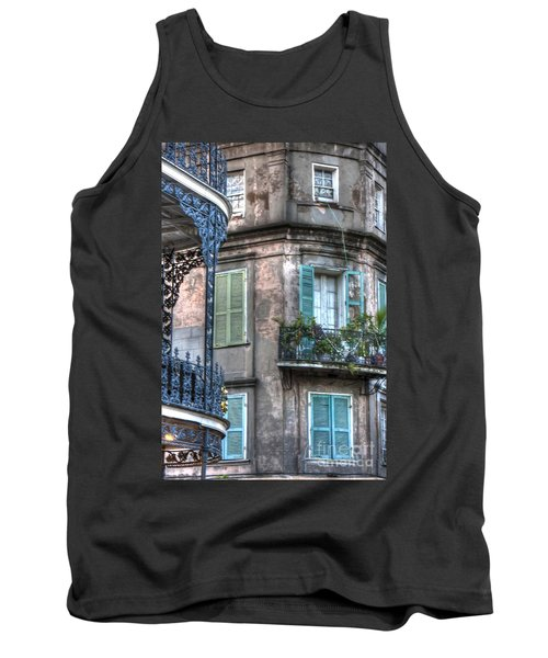 0254 French Quarter 10 - New Orleans Tank Top by Steve Sturgill