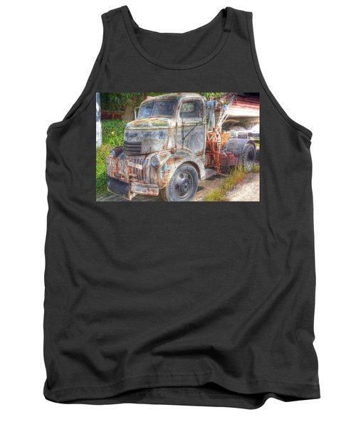 0281 Old Tow Truck Tank Top
