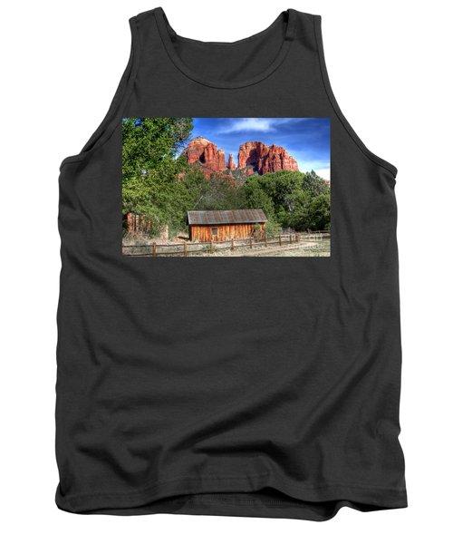 0682 Red Rock Crossing - Sedona Arizona Tank Top
