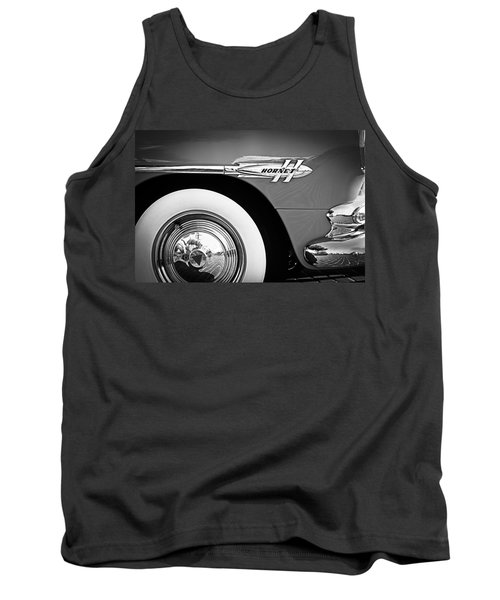 1953 Hudson Hornet Sedan Wheel Emblem Tank Top