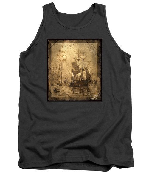 A Pirate Looks At Forty Tank Top by John Stephens