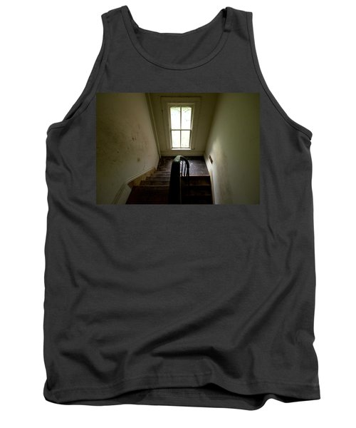 Abandoned Stairs Tank Top