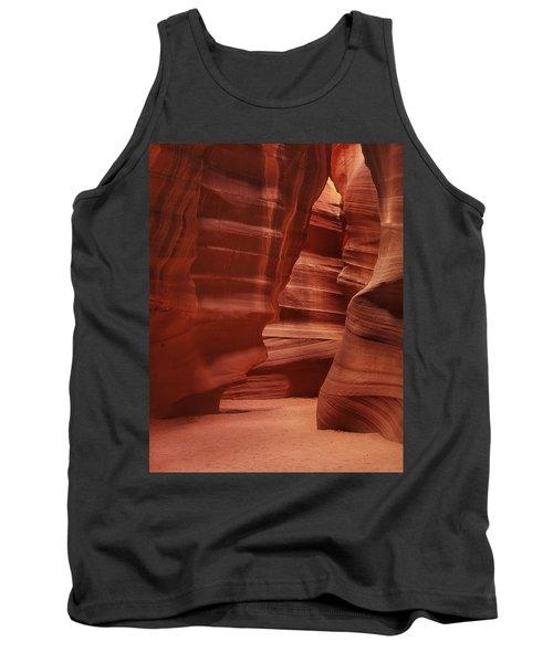 Antelope Slot Canyon Tank Top by Andrew Soundarajan