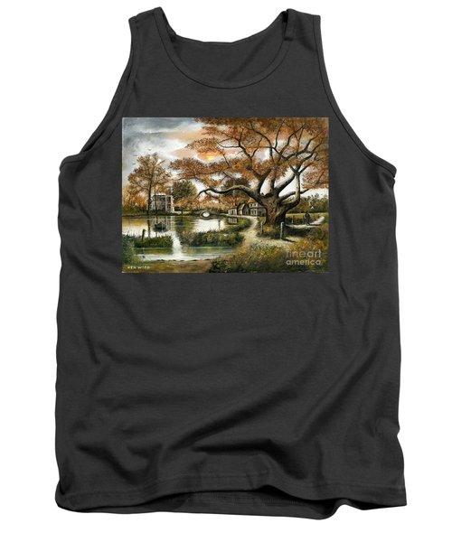Autumn Stroll Tank Top