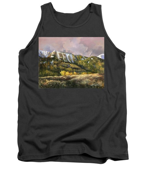 Tank Top featuring the painting Bear Claw by Lynne Wright