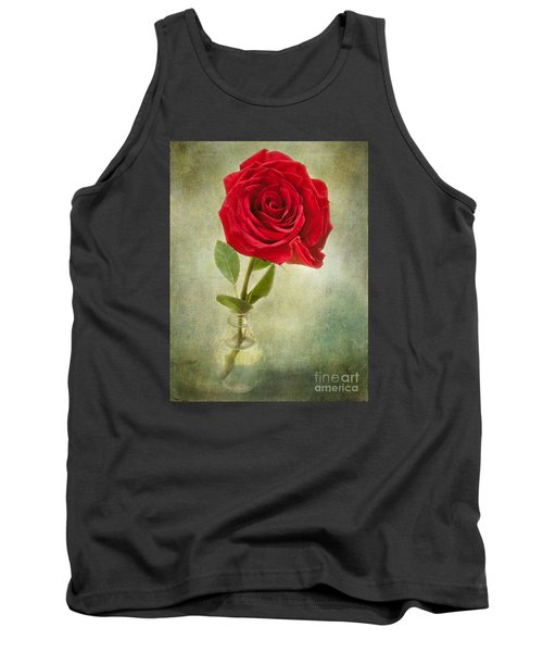 Beautiful Rose Tank Top by Lena Auxier