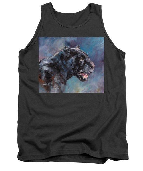 Black Panther Tank Top