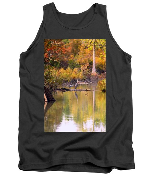 Blue Heron Lake Tank Top
