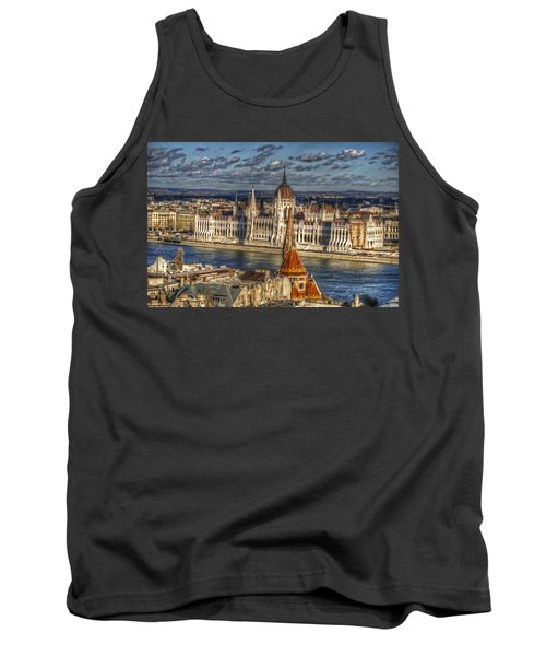 Buda Parliament  Tank Top by Nathan Wright