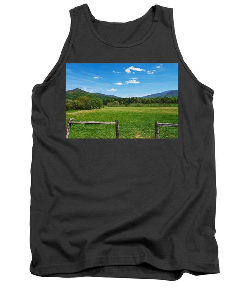 Cades Cove Tank Top by Melinda Fawver