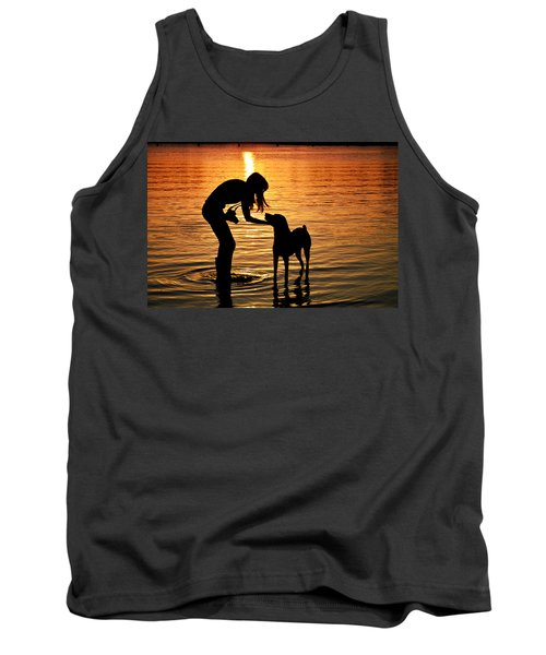 Call And Answer Tank Top