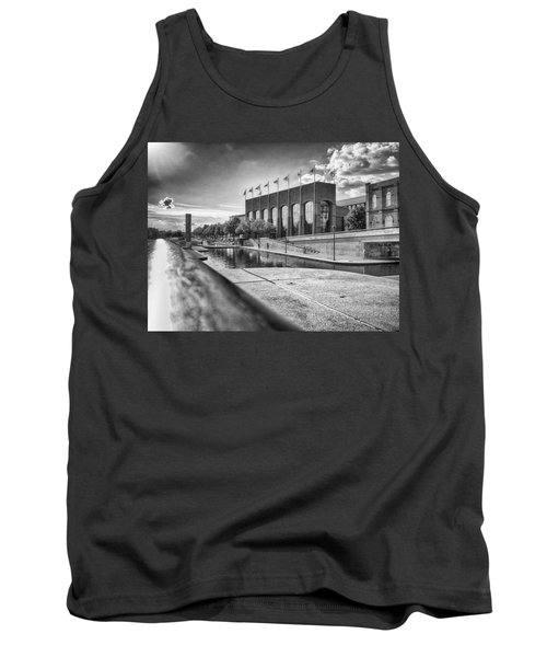 Tank Top featuring the photograph Canal Walk by Howard Salmon