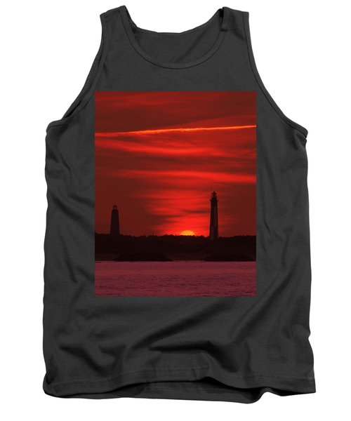 Cape Henry Lighthouses  Tank Top