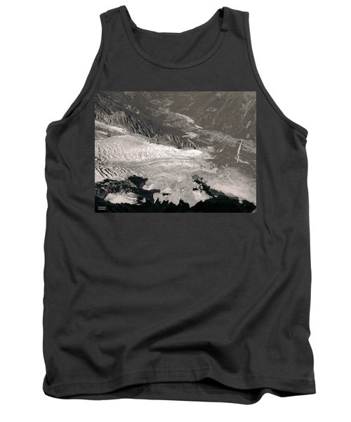 Chamonix From Above Tank Top