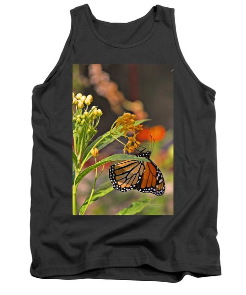 Clinging Butterfly Tank Top