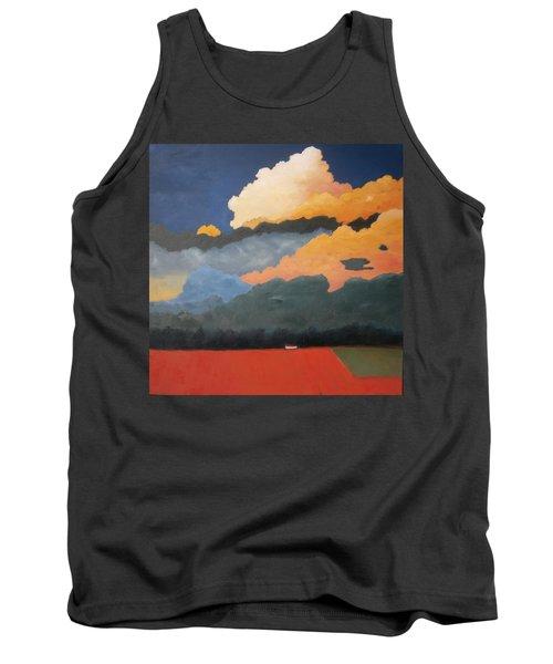 Cloud Rising Tank Top by Gary Coleman