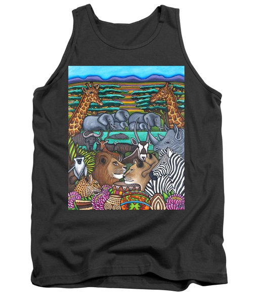 Colours Of Africa Tank Top