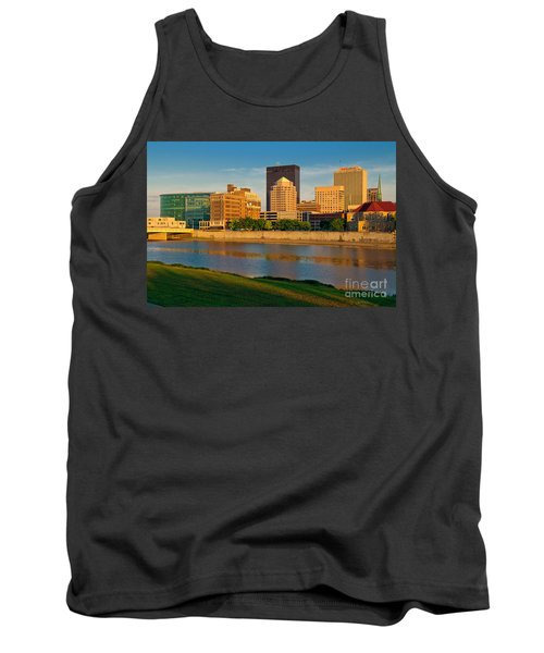 D4u-379 Dayton Skyline Photo Tank Top