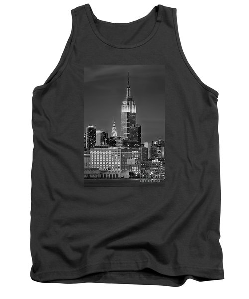 Empire And Chrysler Buildings Tank Top