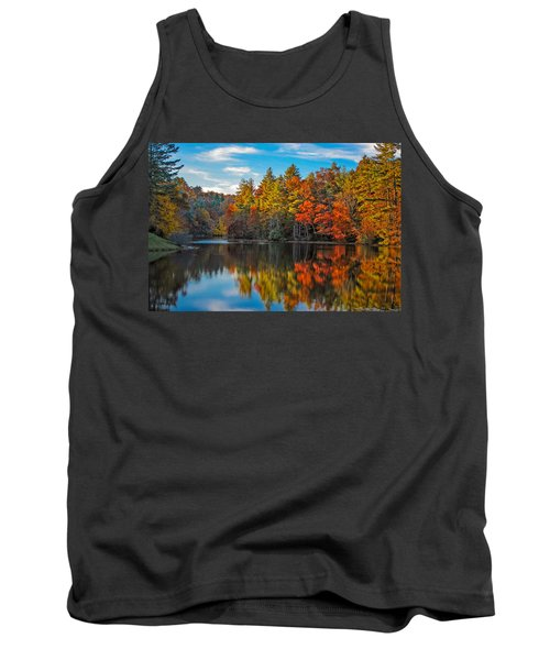 Fall Reflection Tank Top
